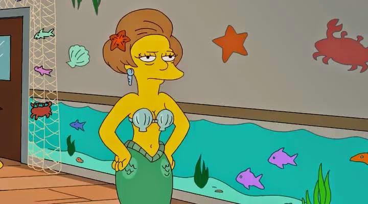 Ebony in pink bikini by pool
